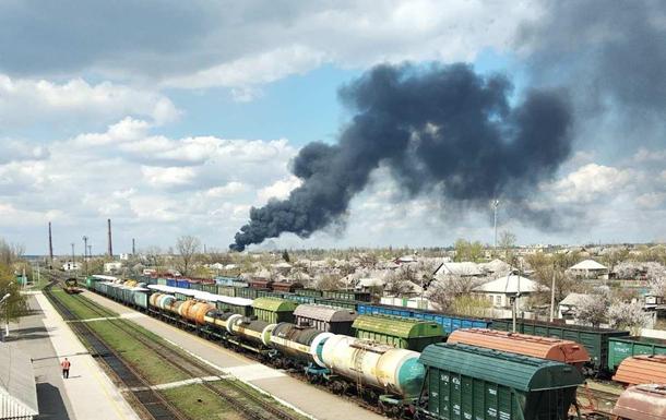 У Рубіжному спалахнула пожежа у військовій частині