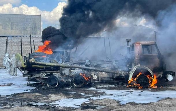 Пожежа в Рубіжному: зросла кількість постраждалих військових