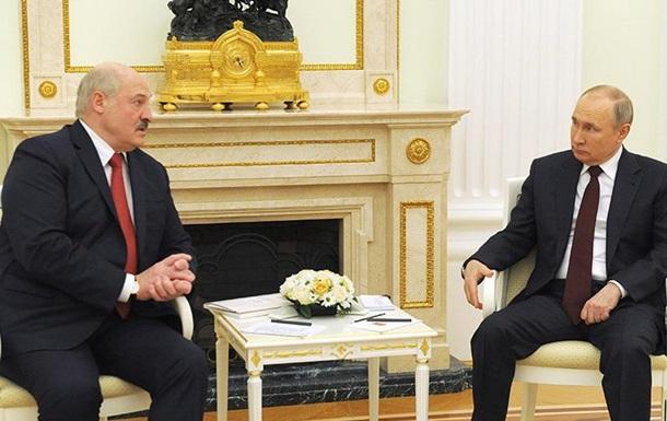Путин и Лукашенко провели переговоры в Москве