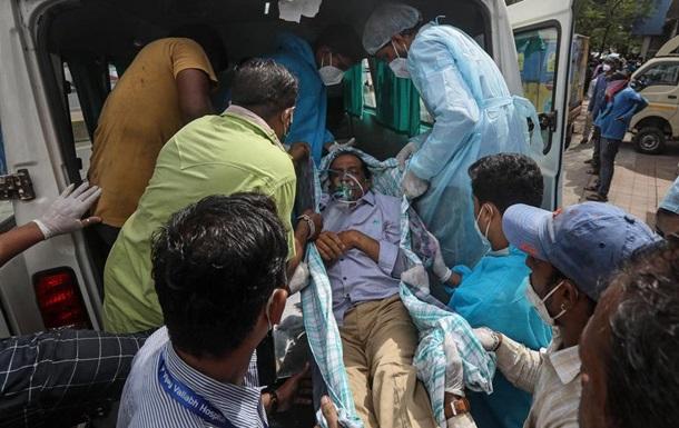 В Індії черговий сумний рекорд за кількістю COVID-випадків за добу