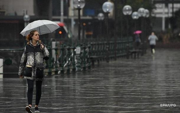 Погода на выходные: дожди, похолодает