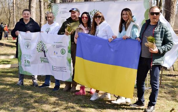 Україна стала лідером всесвітньої акції з озеленення