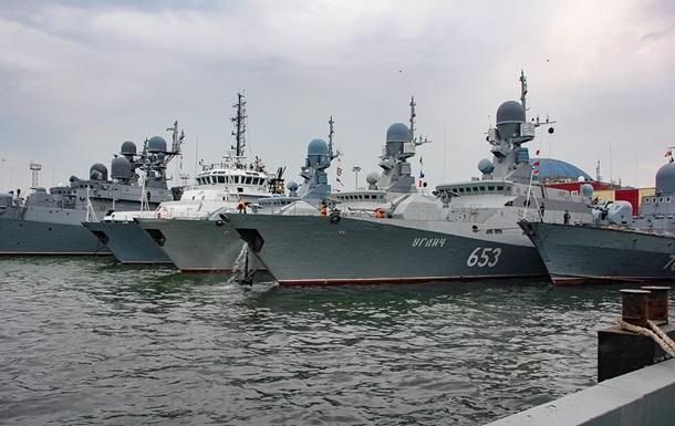 РФ вернула на базы корабли после учений в Крыму