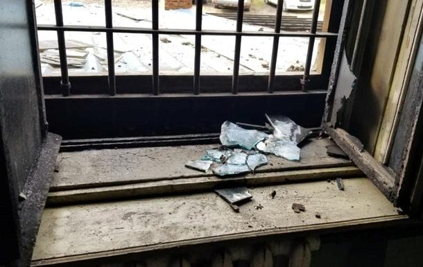 Во Львове случился пожар в музее Тюрьма на Лонцкого