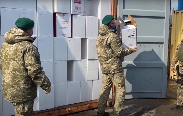 В порту Одессы изъяли контрабандные сигареты на 145 млн гривен