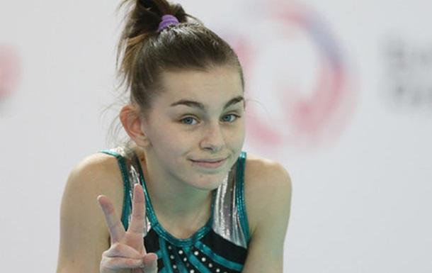 Мотак остановилась в шаге от медали на ЧЕ по спортивной гимнастике
