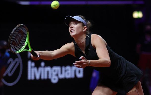 Свитолина не сумела выйти в финал в Штутгарте, уступив Барти