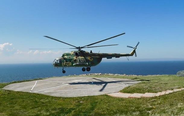 ВМС, ГПУ і Повітряні сили провели навчання