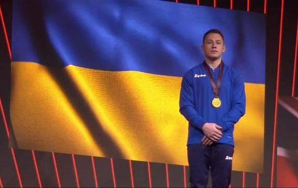 Радивилов выиграл золото ЧЕ в опорном прыжке