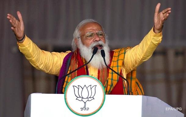 Премьер Индии заявил о `коронавирусном шторме`