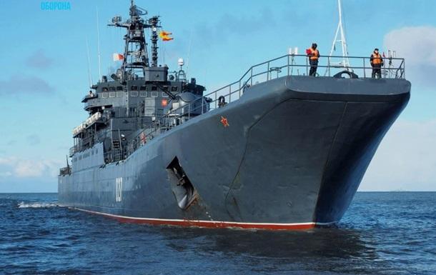 Росія залишила в Чорному морі два кораблі Північного флоту