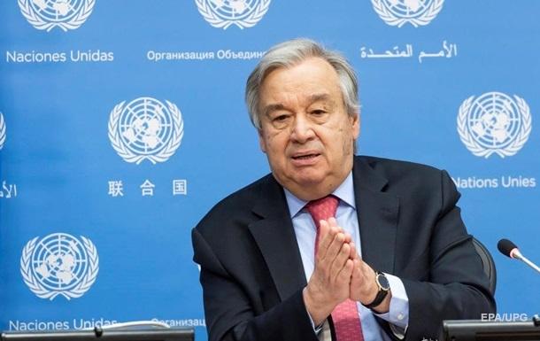 Аварія на ЧАЕС: Генсек ООН опублікував звернення