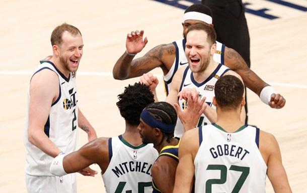 Юта стала першим учасником плей-офф НБА