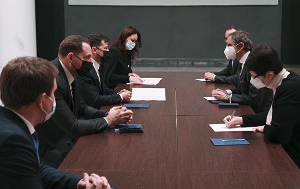Зеленский и гендиректор МАГАТЭ обсудили вопросы ядерной безопасности