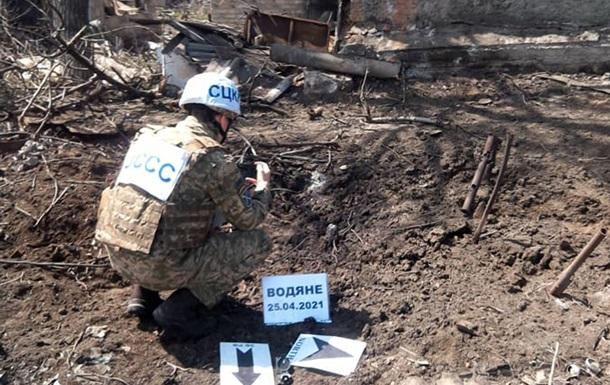 Под обстрел сепаратистов попали гражданские объекты в Водяном