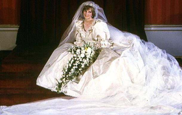 Вперше за 25 років: світові покажуть весільну сукню принцеси Діани