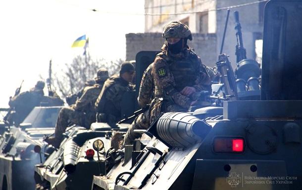 На Одещині відбулися навчання морських піхотинців