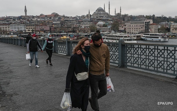 Турция вводит полный локдаун