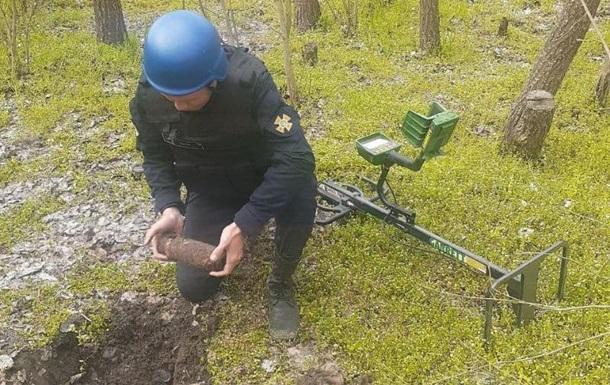 В Одесской области уничтожили арсенал снарядов