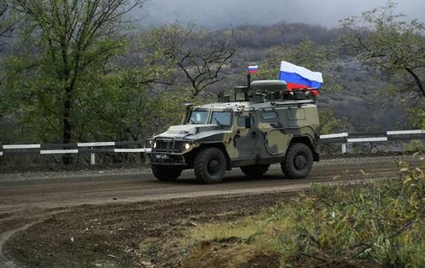 Российские миротворцы подорвались на мине в Карабахе
