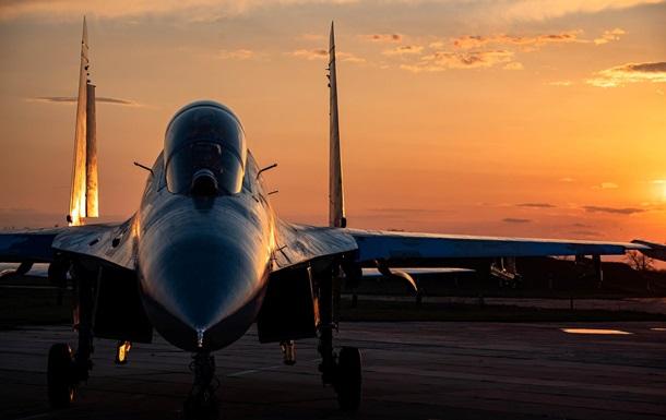 Опубліковані яскраві фото польотів винищувачів ЗСУ