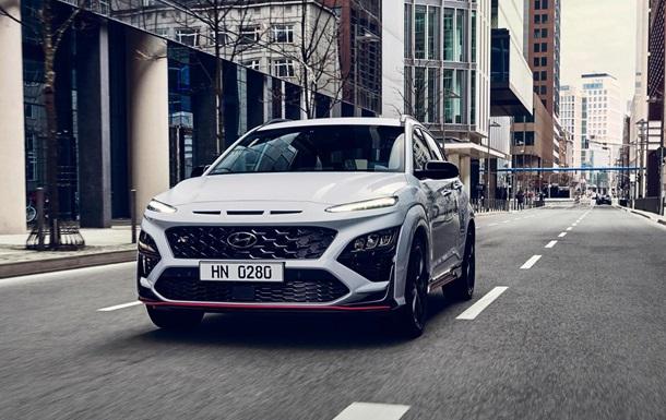 Hyundai представила `заряженный` кроссовер