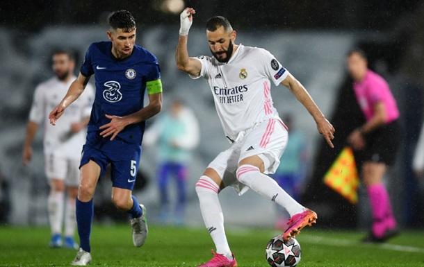 Реал сыграл вничью с Челси в полуфинале Лиги чемпионов