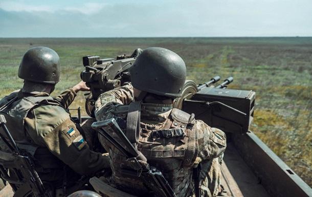 Прикордонники провели навчання в Донецькій області