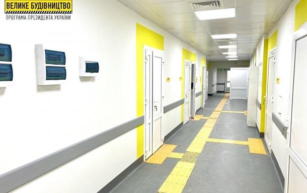 У Валківській районній лікарні завершено реконструкцію приймального відділення