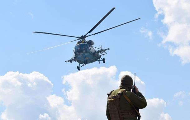 На Донбассе провели учения авиационных наводчиков