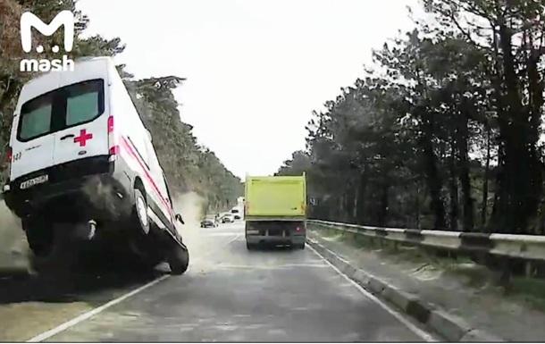 У Криму швидка потрапила в ДТП, є жертви