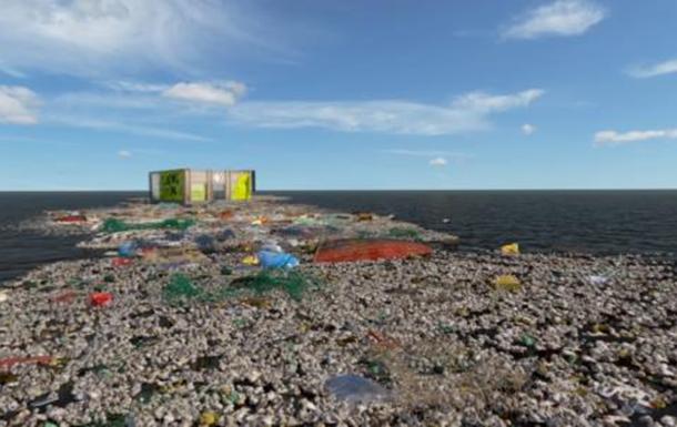 Converse продает обувь на острове из мусора