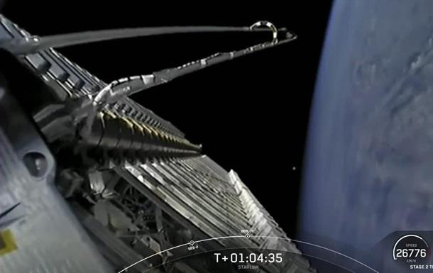 SpaceX вивела на орбіту нову партію супутників Starlink