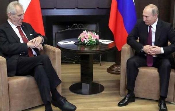 Чехия против России – конфликт дошел до президентов