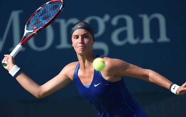 Калинина вышла в третий круг турнира в Загребе