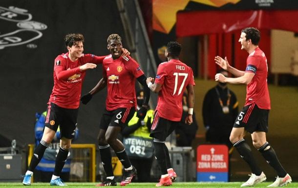 Манчестер Юнайтед уверенно разобрался с Ромой