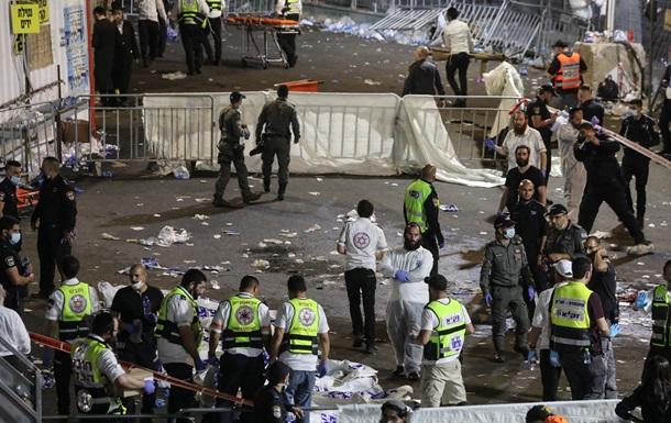 В Израиле во время праздника упала трибуна, десятки погибших