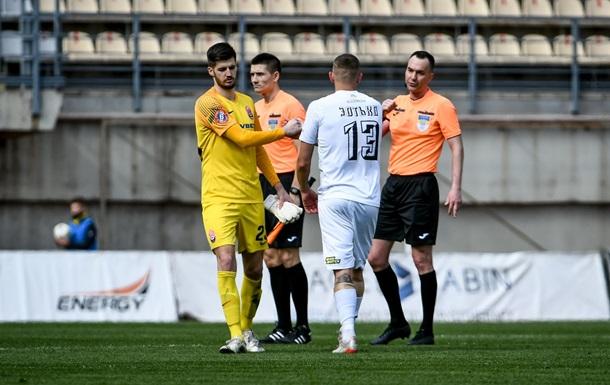 Комитет арбитров УАФ объяснил удаление Василя в матче против Олимпика