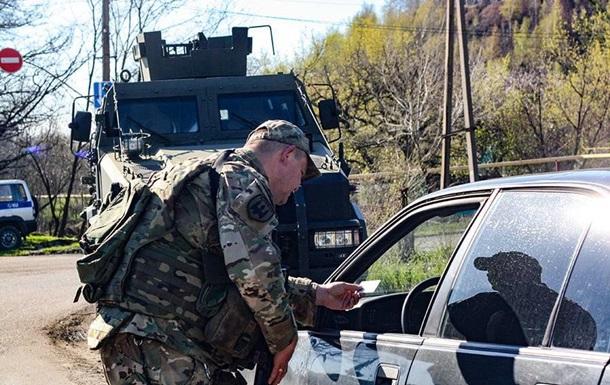 В Торецке силовики провели антидиверсионный рейд