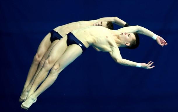 Прыгуны в воду Середа и Сербин добыли Украине первую олимпийскую лицензию в синхроне