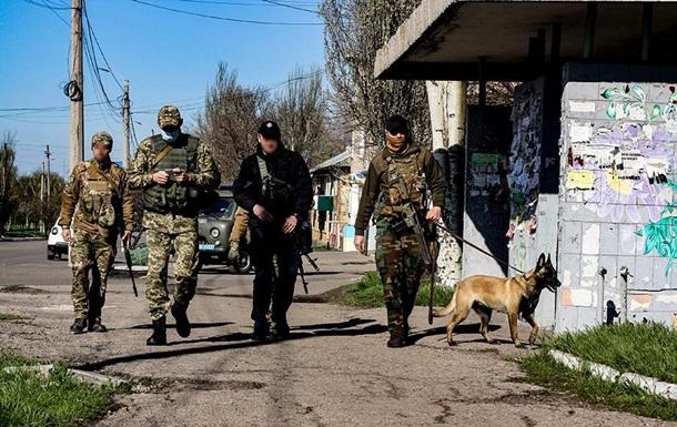 Военные провели проверку 20 населенных пунктов на Донбассе