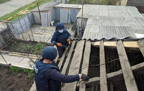 В апреле сотрудники ГСЧС отремонтировали более 170 домов в зоне ООС