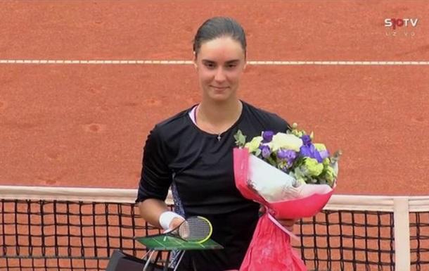 Украинка Калинина выиграла второй турнир подряд