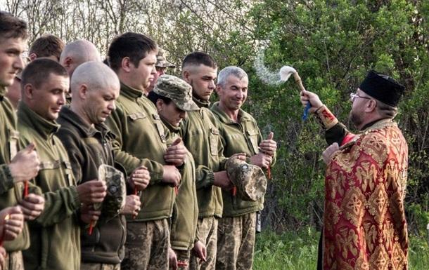На Донбассе один обстрел на Пасху