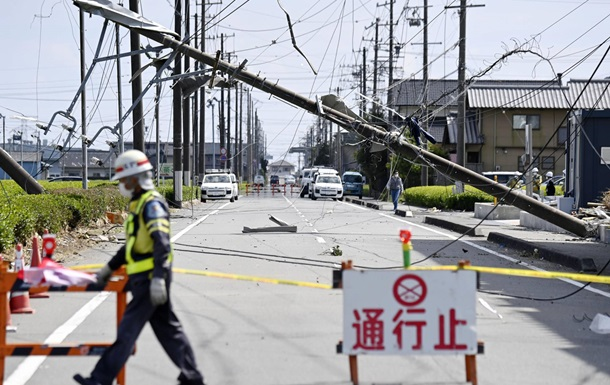 По Японии пронесся торнадо