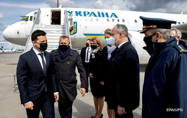 Зеленский прибыл с визитом в Польшу