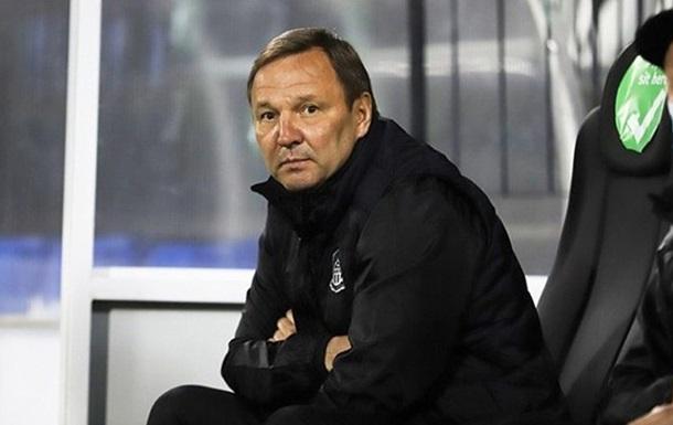 Олимпик расстался с Калитвинцевым перед концовкой сезона