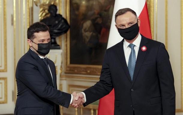Польша за Украину в НАТО и в ЕС - Зеленский
