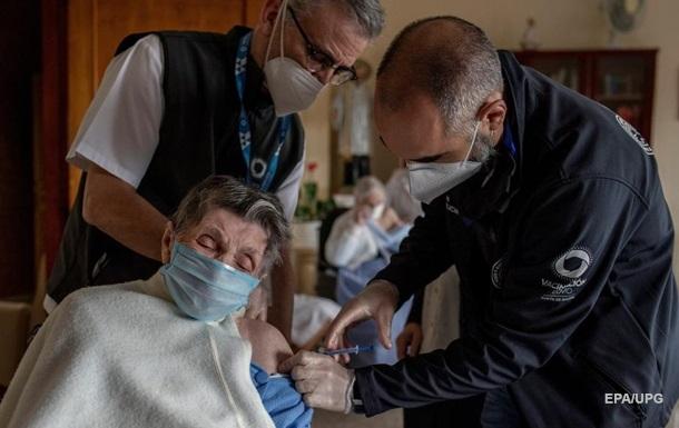 В Іспанії від коронавірусу повністю щепили майже 5 млн осіб