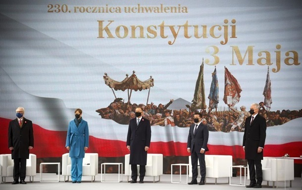 Итоги 3.05: Визит в Польшу и декларация пяти стран